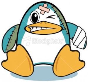 Pinguino Ferito